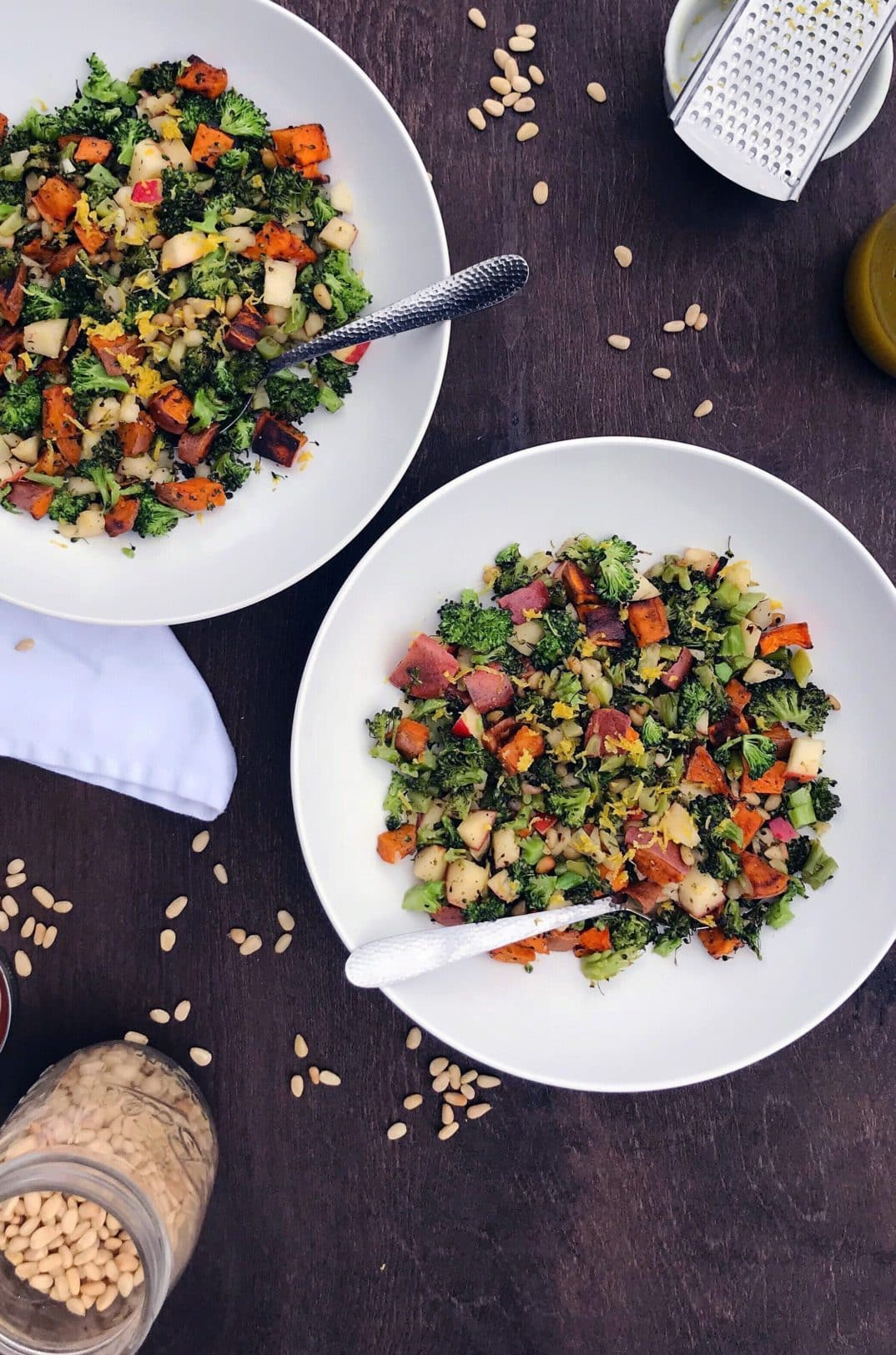 roasted spring salad
