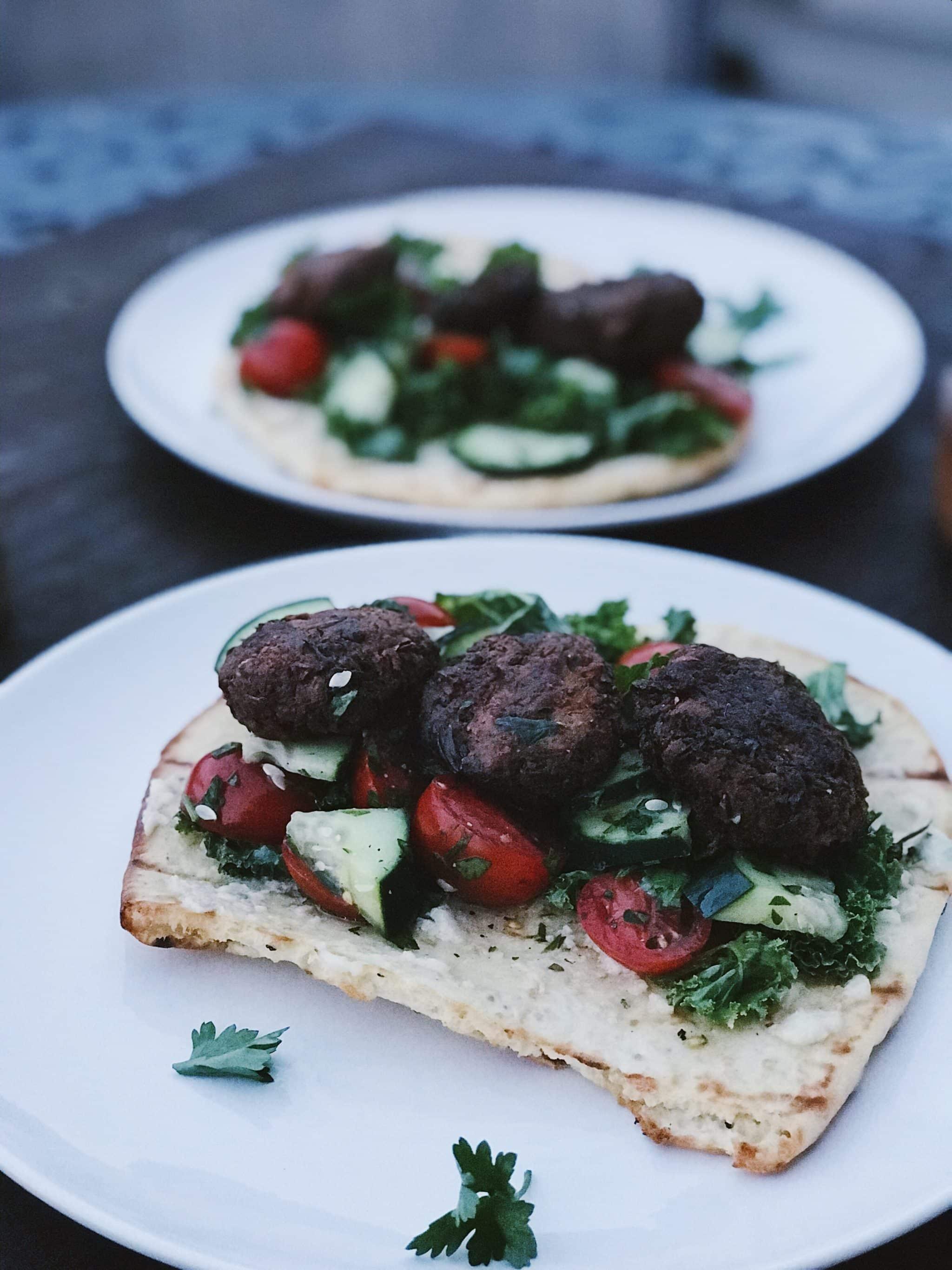 falafel flatbread